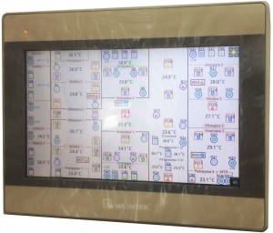 Сенсорная панель диспетчеризации