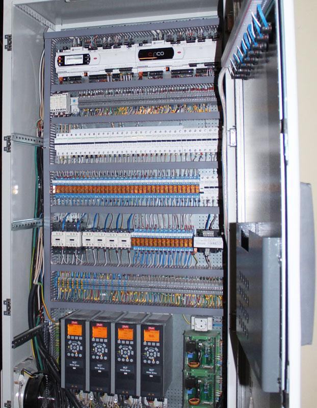 Шкаф управления - состав
