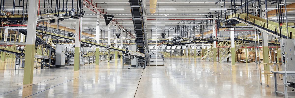 Производственное предприятие - тяжелая промышленность