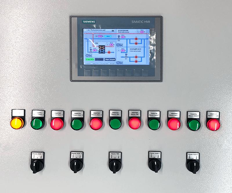 Шкаф управления ИТП Siemens