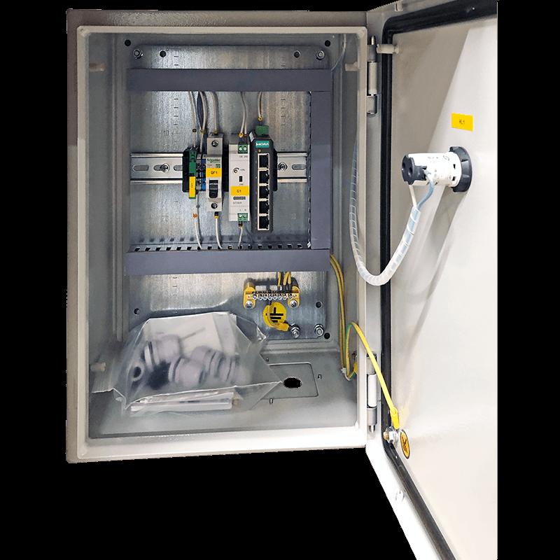 Шкаф повторитель Ethernet